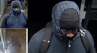 Knifeman robs village shop