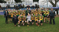 Bush bags brace as Henley crowned county champions