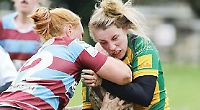 Women secure third-place finish with losing bonus point