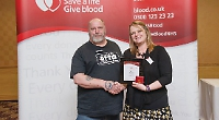Trio honoured for saving lives with blood donations