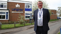 Headteacher praises staff and pupils as he moves on