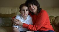 Parents keeping up hopes after son's cancer returns