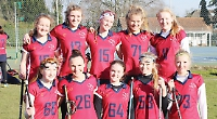 School's lacrosse team with five sets of sisters