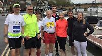 Eight 'finish' race for tragic London Marathon runner