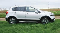 Suzuki's 'medium-sized' SUV leads from the front