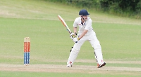 Opening batsman shines for hosts as in annual friendly fixture