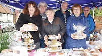 Cake and savouries sale raises £578 for day centre
