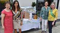 Charity market at rugby club ladies' day