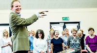 Choir to perform in twin town