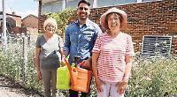 Bloom volunteers star in TV episode about village