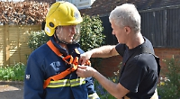 If you want to become a retained firefighter, it's tough