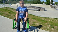 Boy, eight, needs £2,000 wheelchair to go skating