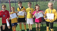 Thriving youth sides pick up club awards