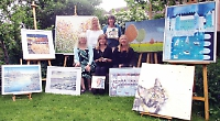Thames Valley artists' bank holiday weekend show will aid hall