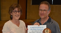Volunteer cleaner who hates moaning receives award