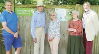Signs installed at nature reserve