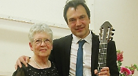 Guitar concert with tapas and wine raises £1,800 for hospice charity