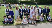 Pupils stage their own wedding ceremony
