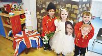 Emmer Green Pre-School gets in the wedding spirit