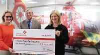 Rotarians donate £1,000 to air ambulance