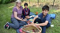 Blossom picnic held at community orchard