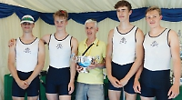 Henley quad leads way at Dorney