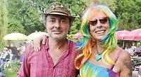 Yeah man, it was so far out... hippies return for pub music festival