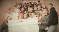 Students raise cash for hospice charity