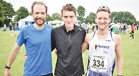 Workmates take first two places in 10km