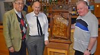 'Missing' memorial plaque restored to pride of place