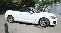 Convertible's hi-tech from the top down