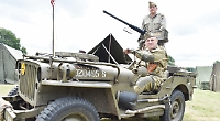 Thousands invade village for world war re-enactment