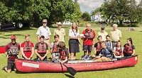 Lions pay for club's new canoe