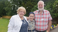 School thanks grandparents with special tea