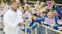 Woodcote gets royal visit from Prince Edward