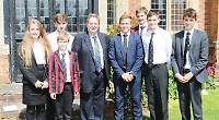 MP meets staff and pupils on school visit
