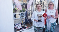 Optician's wins window display competition