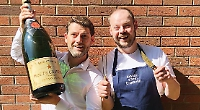 Win champagne dinner for two at the Henley Festival London Street Brasserie Spiegeltent
