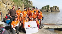 Staff raise £25,000 for hospice charity with adventure challenge