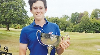 Teen holds double title