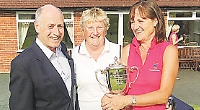 Mitchell lifts trophy as ladies dominate