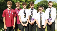 Students set record in mock CSI competition
