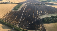 Ewelme farmland destroyed in blaze