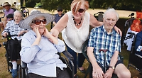 Care home holds garden party