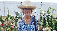 Mary pops into first homes show at Stonor Park