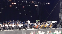 Orchestral manoeuvres in the sunshine were most welcome