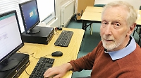 Pensioner completes computer course