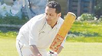 Debutant Zamman hits half-century to keep side on track