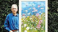 Artist to say 'thank-you' with garden fund-raiser