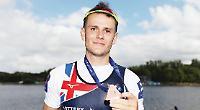 Leander sculler secures first international medal